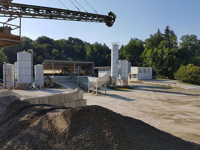impianto di produzione calcestruzzo