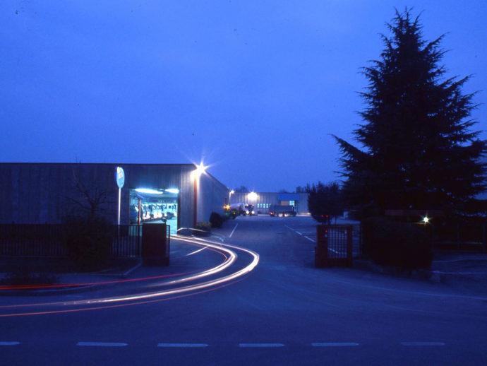 panoramica sede in notturna